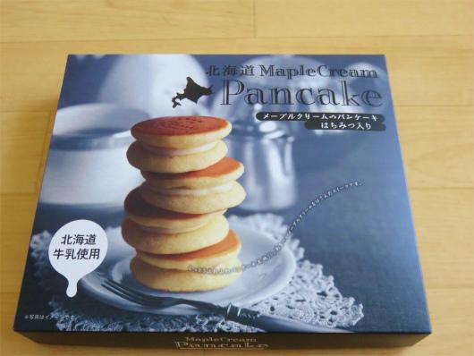 北海道土産メープルクリームパンケーキ