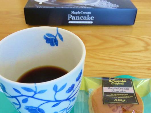 ブラックコーヒーと併せて食べる