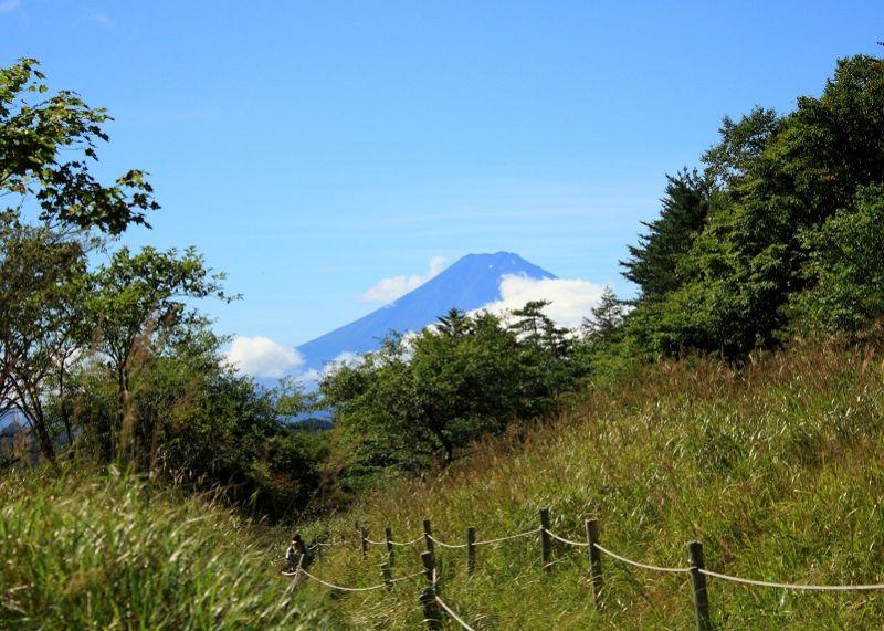 丸川峠からの富士山