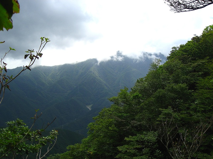 三つ峠山方面