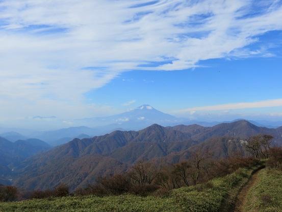 みやま山荘~蛭ヶ岳山荘の間