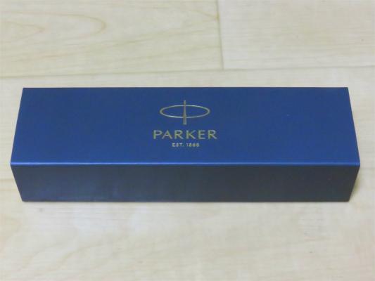パーカーのボールペン箱