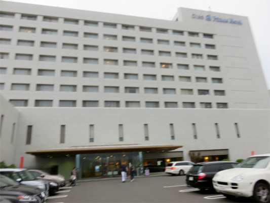 大磯プリンスホテルの入口