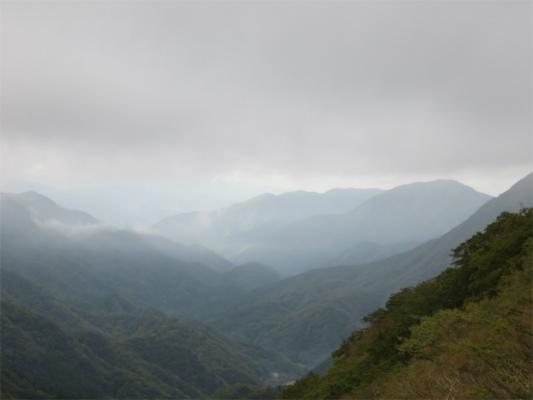 権現山(丹沢湖)方面