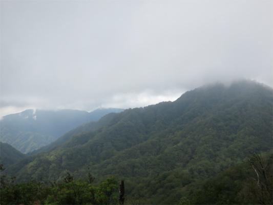 同角山稜檜岳山稜