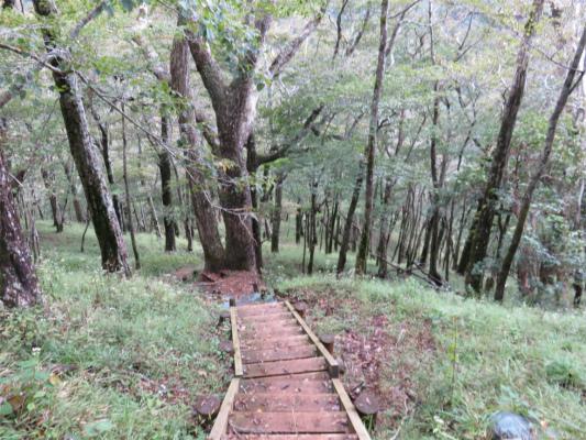 青ヶ岳山荘から臼ヶ岳