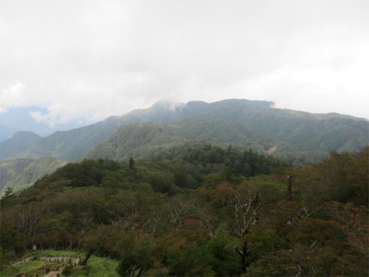 姫次・袖平山と風巻尾根