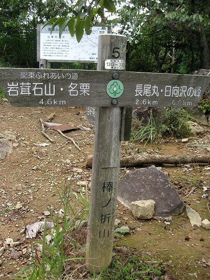 棒ノ嶺の標高が969m