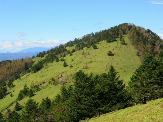 天狗棚山は、360度の絶景スポット