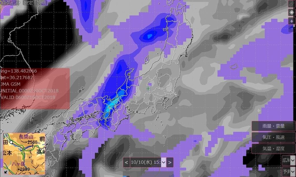 SCW(GPV)気象予報