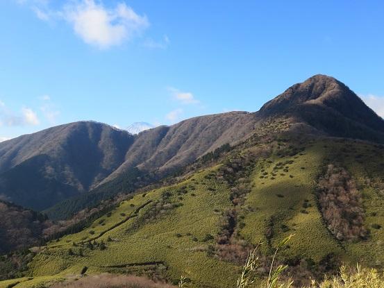 矢倉岳金時山と富士山や相模湾の景色が美しい