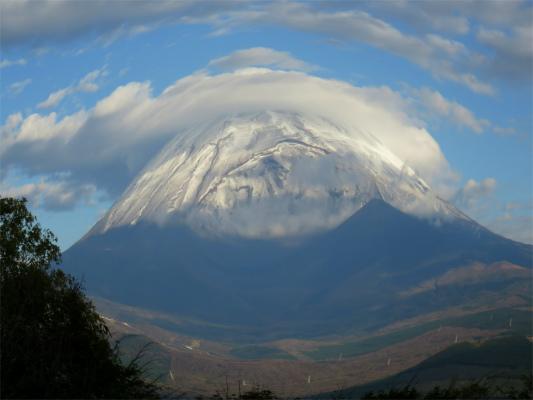 富士山魚眼レンズ