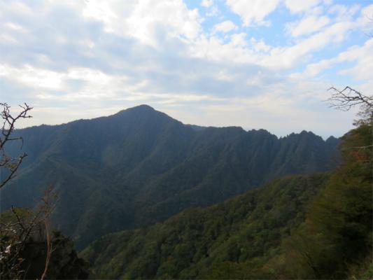 鋸岳展望台からの景色