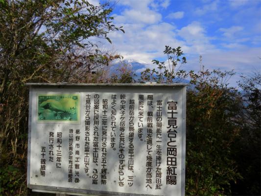 昭和13年に発行された五十銭紙幣の図案に使われた富士山の景色