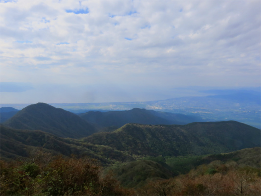 愛鷹連峰越前岳からの景色