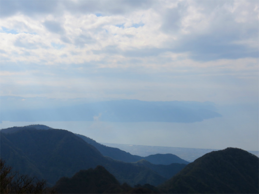 愛鷹連峰からの伊豆半島