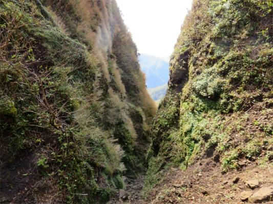 呼子岳から蓬莱山