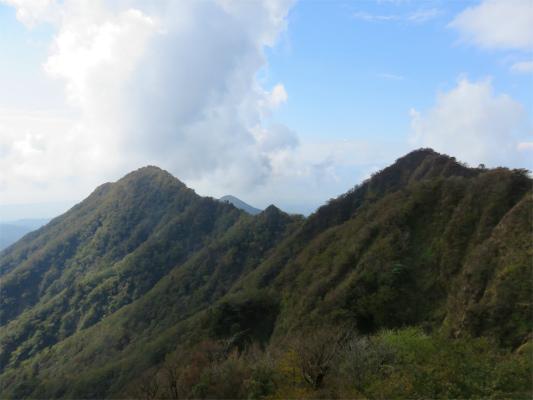 大岳と呼子岳