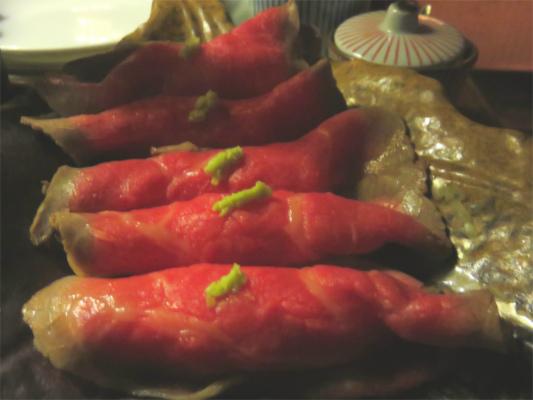 和牛のお寿司