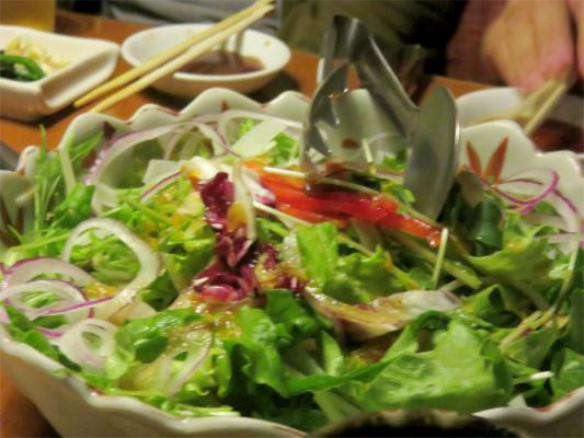 野菜も新鮮で美味しい