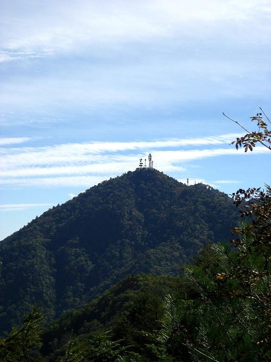 清八山から三つ峠山景色