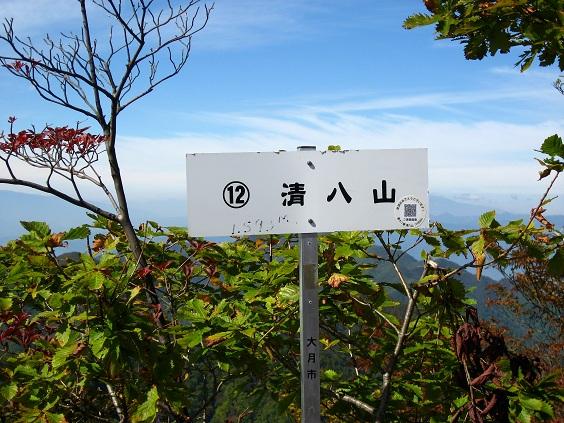 清八山山頂