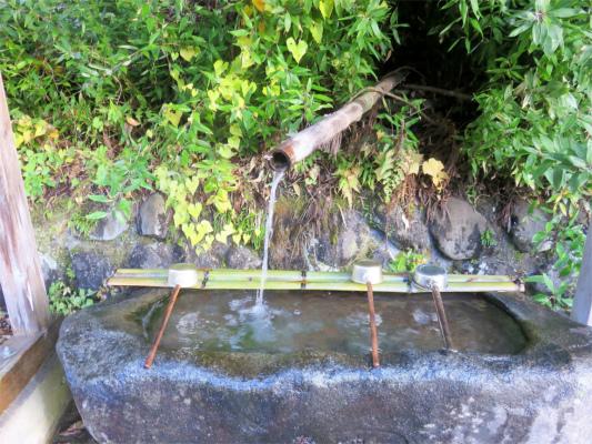 一宮神社水場
