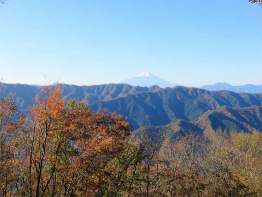 西原峠からの景色