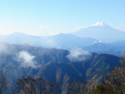 大沢山の山頂景色
