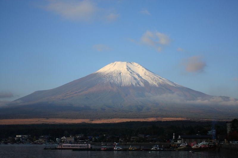 石割山から富士山の景色
