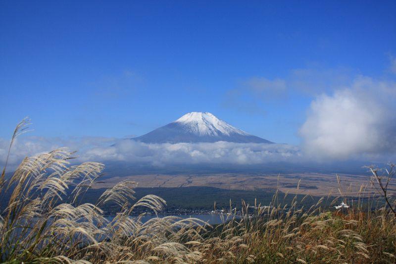 太平山からの富士山の絶景