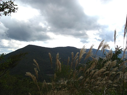 高指山から見た鉄砲木ノ頭