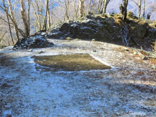 白岩小屋のテント場