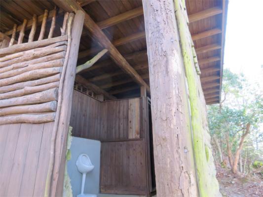 霧藻ヶ峰にあるトイレ