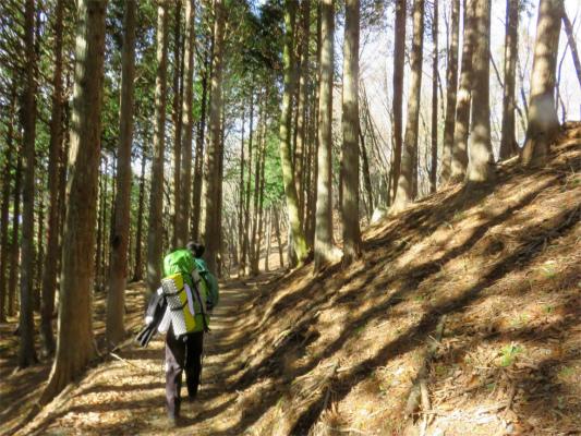 三峯神社奥宮(妙法ヶ岳)へ寄り道