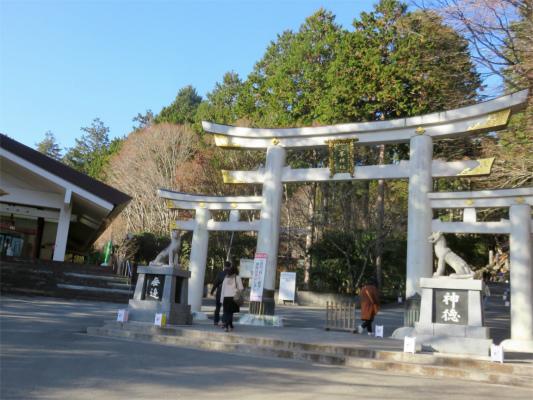 三峯神社の入口