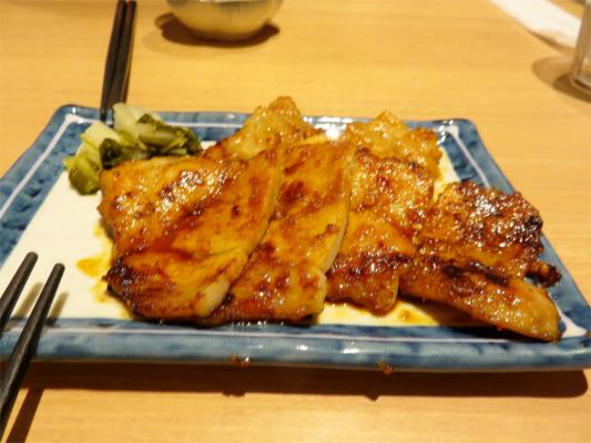 豚味噌焼き