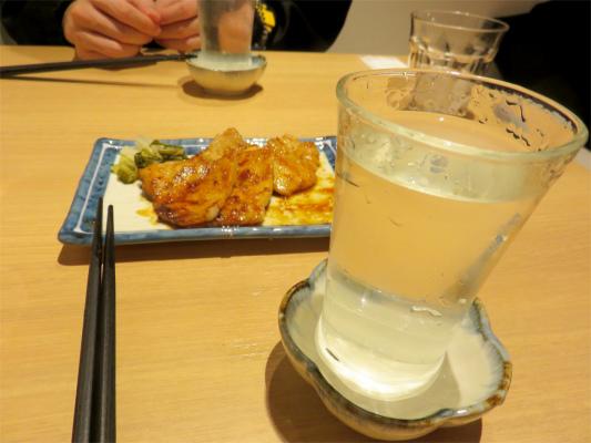 豚味噌焼き秩父錦純米酒