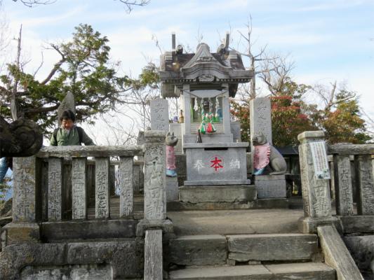 三峯神社奥宮(妙法ヶ岳)
