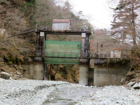 熊木ダム水門