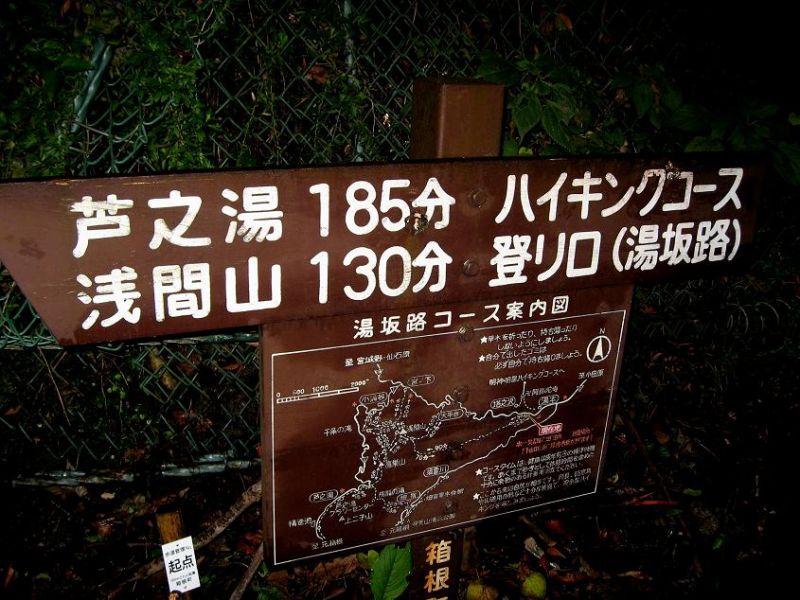 箱根ハイキング浅間山コース