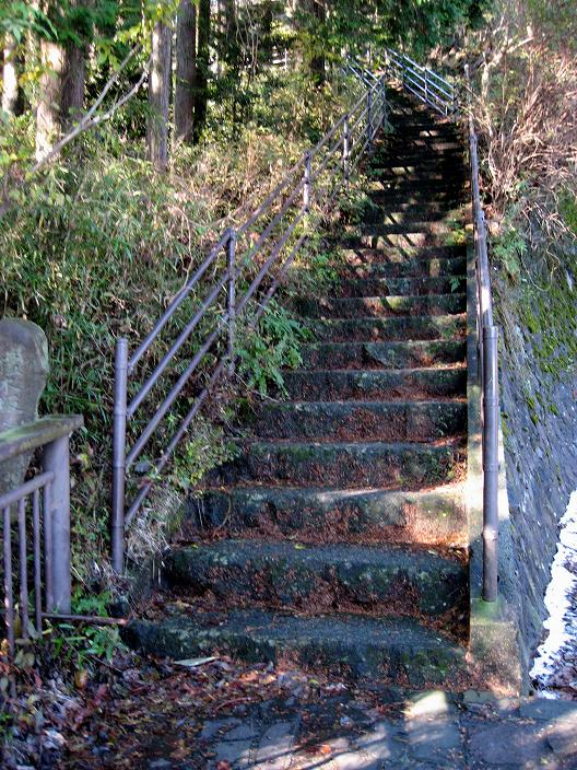 箱根旧街道階段