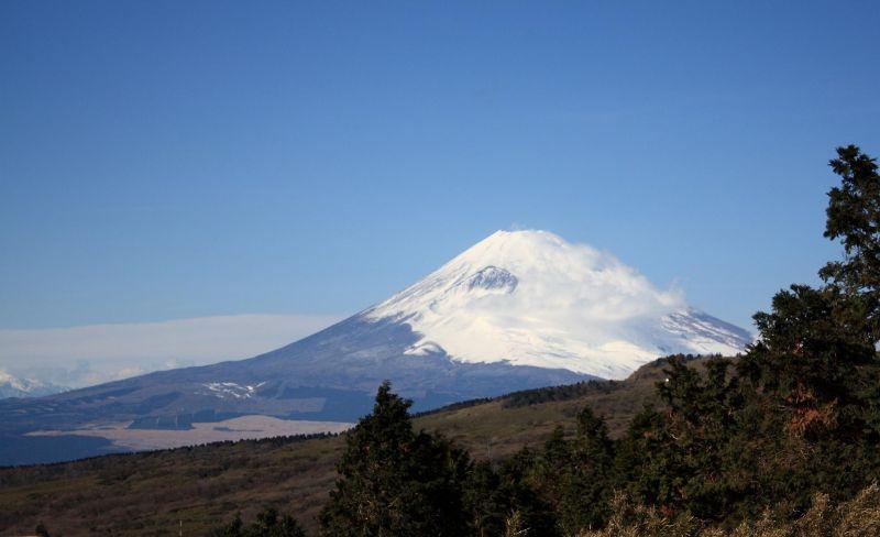 富士山が大きく見えてきた