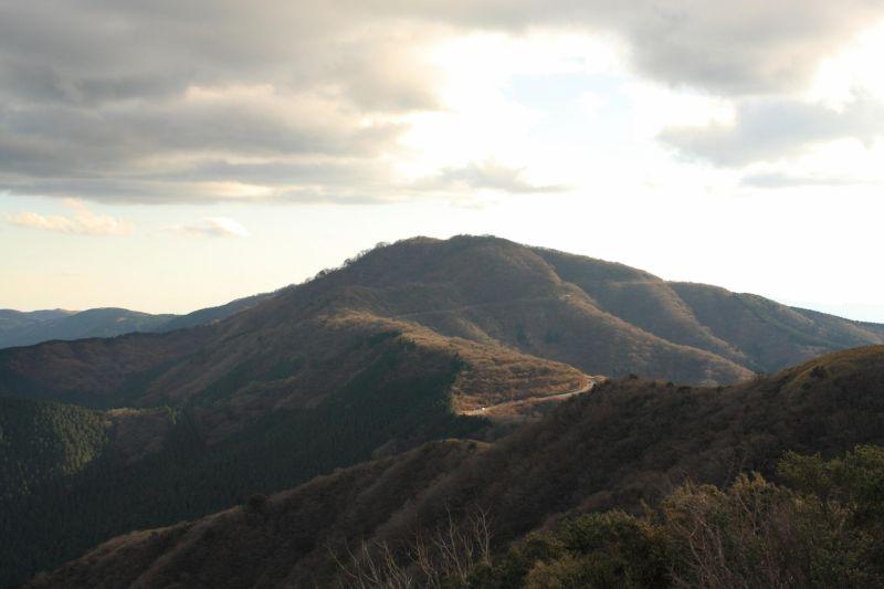 目指す丸岳