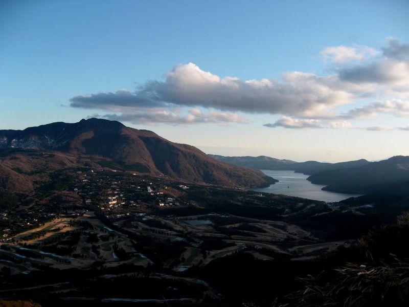 箱根の外輪山の景色