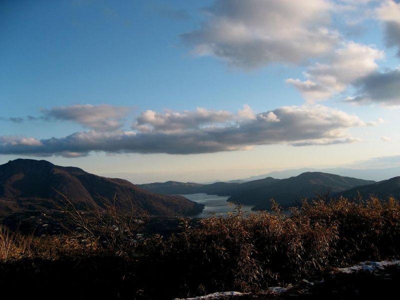 箱根外輪山ハイキングはタフなコース