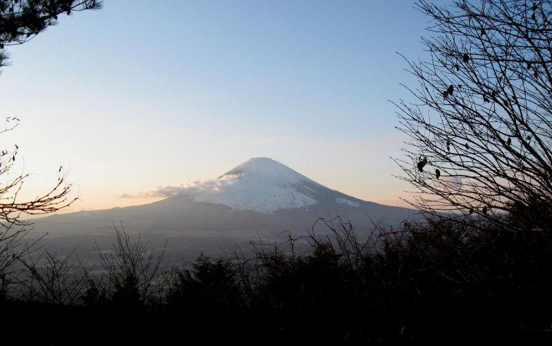 乙女峠富士山の景色
