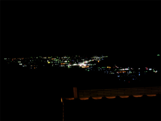 大菩薩の湯夜景