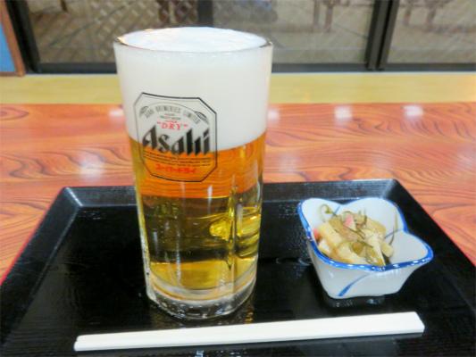 大菩薩亭生ビール