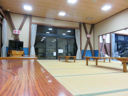 大菩薩の湯休憩室